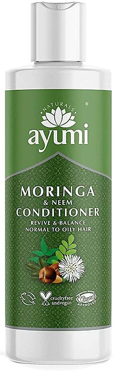 "Balsam ""Moringa și Nim"" - Ayumi Moringa & Neem Conditioner — Imagine N1"