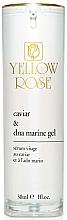 Parfumuri și produse cosmetice Ser cu extract de caviar și ADN marin pentru față - Yellow Rose Caviar & Marine DNA Gel