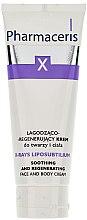 Parfumuri și produse cosmetice Cremă calmantă și regenerantă pentru față și corp - Pharmaceris X XRay-Liposubtilium Sooting and Regenerating Cream For Face and Body