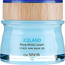 Cremă hidratantă de față - The Saem Iceland Aqua Moist Cream — Imagine N2