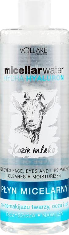 Apă micelară - Vollare Goat's Milk Micellar Water Hedra Hyaluron — Imagine N1