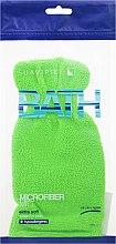 Parfumuri și produse cosmetice Mănușă-Burete de baie, verde - Suavipiel Bath Micro Fiber Mitt Extra Soft