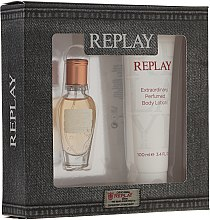 Parfumuri și produse cosmetice Replay Jeans Original for Her - Set (edt 20ml + b/l 100ml)