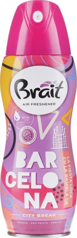 """Odorizant pentru casă """"City Break -Barcelona"""" - Brait Dry Air"""