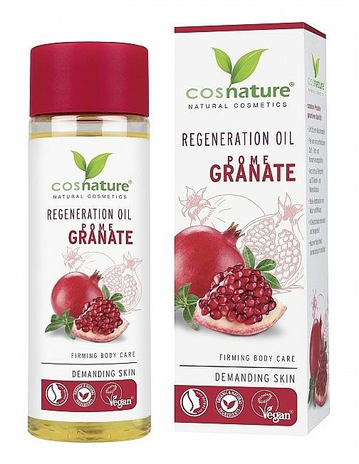 """Ulei regenerant pentru corp """"Rodie"""" - Cosnature Regenerating Oil Pomegranate — Imagine N1"""