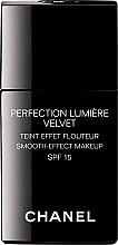 Parfumuri și produse cosmetice Fond de ten cu efect de strălucire - Chanel Perfection Lumiere Velvet Smooth-Effect Makeup SPF 15