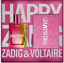 Parfumuri și produse cosmetice Zadig & Voltaire This is Love! for Her - Set (edp/50ml + bag)