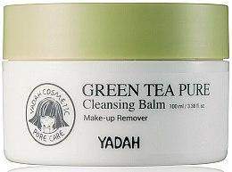 Parfumuri și produse cosmetice Balsam cu extract de ceai verde pentru curățarea feței - Yadah Green Tea Pure Cleansing Balm