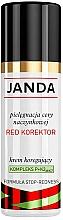 """Parfumuri și produse cosmetice Cremă corectoare """"Red Concealer"""" pentru față - Janda Corrector Capillary Skin Cream"""