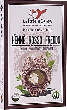"""Parfumuri și produse cosmetice Pudră decolorantă pentru păr """"Rosso Freddo"""" - Le Erbe di Janas Red Henna Cold Shades"""