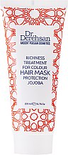 """Parfumuri și produse cosmetice Mască pentru păr vopsit """"Protecția culorii"""" cu ulei de jojoba - Dr. Derehsan Color Protection Hair Mask"""