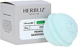 """Parfumuri și produse cosmetice Bombă de baie """"Mentă"""" - Herbliz CBD"""