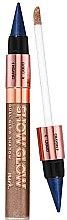 Parfumuri și produse cosmetice Creion-fard 2 în 1 pentru pleoape - Avon Show Glow Dual Eye Shadow
