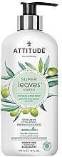 """Parfumuri și produse cosmetice Săpun pentru mâini """"Frunze de măslin"""" - Attitude Super Leaves Natural Hand Soap Olive Leaves"""