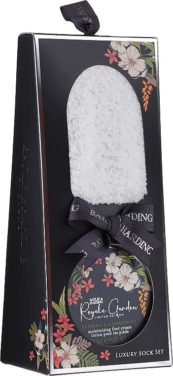 Set - Baylis & Harding Royale Garden Limited Edition Luxury Sock Set (foot/cr/50ml + socks) — Imagine N1