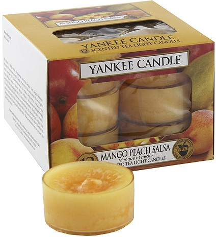 Lumânări pastile - Yankee Candle Scented Tea Light Candles Mango Peach Salsa — Imagine N4