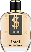 Parfumuri și produse cosmetice Lazell $ For Men - Apă de toaletă