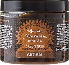 Parfumuri și produse cosmetice Săpun negru natural - Beaute Marrakech Argan Soap Natural
