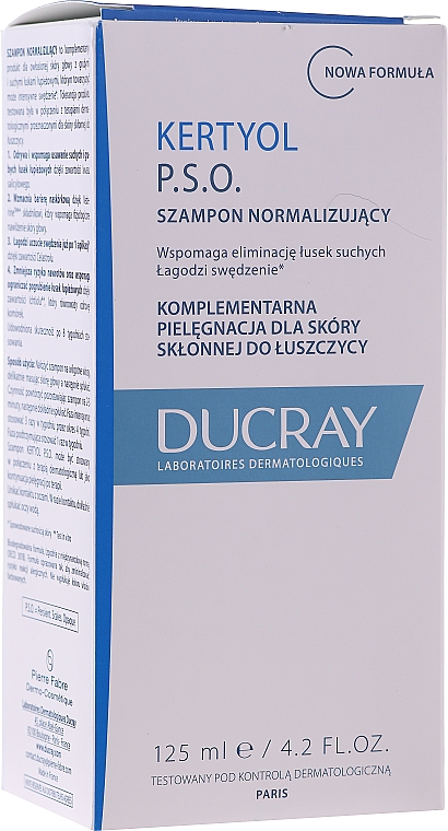 Set - Ducray Kertyol P.S.O. (shm/100ml + concentrate/125ml) — Imagine N6