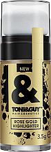 Parfumuri și produse cosmetice Highlighter pentru păr - Toni&Guy Rose Gold Highlighter