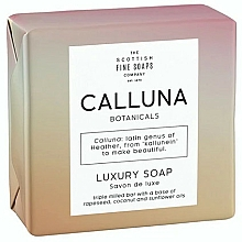 Parfumuri și produse cosmetice Săpun - Scottish Fine Soaps Calluna Botanicals Luxury Soap