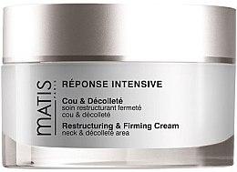 Parfumuri și produse cosmetice Cremă pentru gât și decolteu - Matis Reponse Intensive Restructuring & Firming Cream