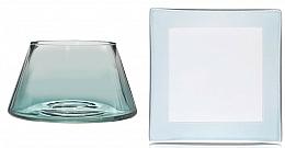 Accesorii pentru lumânări decorative - Yankee Candle Savoy Ombre Small Shade & Tray Set — Imagine N1