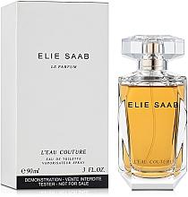 Elie Saab L'Eau Couture - Apă de toaletă (tester cu capac) — Imagine N2