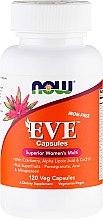 Parfumuri și produse cosmetice Supliment alimentar pentru femei, capsule - Now Foods Eve Womans Multi