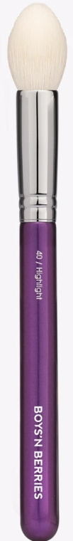 Pensulă pentru iluminator - Boys'n Berries Highlight Face Brush — Imagine N1