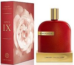 Parfumuri și produse cosmetice Amouage The Library Collection Opus IX - Apă de parfum