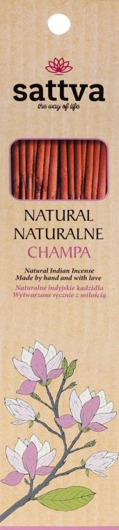 Stick-uri aromatice - Sattva Champa — Imagine N1