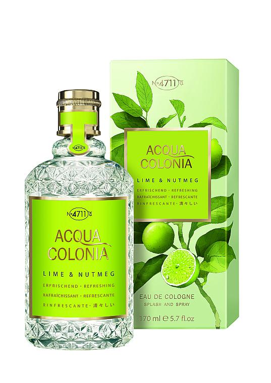 Maurer & Wirtz 4711 Aqua Colognia Lime & Nutmeg - Apă de colonie — Imagine N1