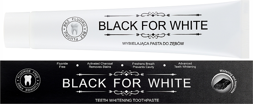 Pastă de dinți - Biomika Black For White Teeth Paste