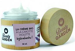 Parfumuri și produse cosmetice Cremă hidratantă cu extract de morcov violet pentru față - Beauty Garden Violet Carrot Face Cream