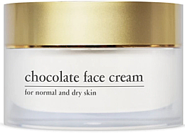 Parfumuri și produse cosmetice Cremă energizantă de ciocolată cu extract de cacao pentru față - Yellow Rose Chocolate Face Cream