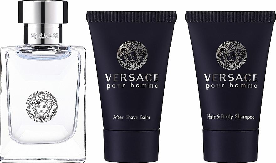 Versace Versace Pour Homme - Set (edt/5ml + sh/gel/25ml + ash/balm/25ml) — Imagine N2