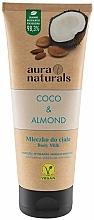 """Parfumuri și produse cosmetice Lapte pentru corp """"Cocos și Migdale"""" - Aura Naturals Coco & Almond Body Milk"""
