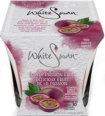 "Lumânare aromată ""Fructul pasiunii"" - White Swan Lovely Passion Fruit — Imagine N1"