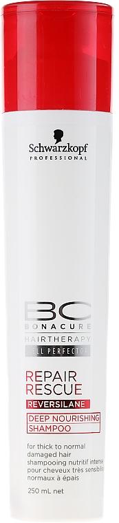 Şampon regenerant - Schwarzkopf Professional BC Bonacure Repair Rescue Reversilane Shampoo — Imagine N1