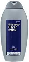 Parfumuri și produse cosmetice Șampon pentru păr grizonat - Kallos Cosmetics Silver Reflex Shampoo