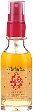 Parfumuri și produse cosmetice Concentrat de noapte în două faze împotriva primelor semne ale îmbătrânirii - Melvita Pulpe De Rose Plumping Radiance Duo