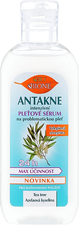 Ser pentru față - Bione Cosmetics Antakne Tea Tree and Azelaic Acid Facial Serum