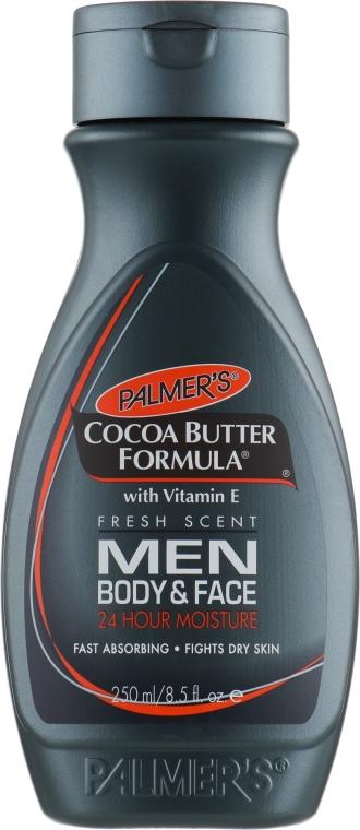 Loțiune pentru față și corp, pentru bărbați - Palmer's Cocoa Butter Formula Men Body & Face Lotion — Imagine N1