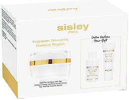 Parfumuri și produse cosmetice Set - Sisleya L'Integral Anti-Age Eye And Lip Contour Cream Set (cr/4ml + lot/15ml + cr/lip/eye/15ml)