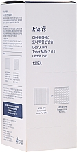 Parfumuri și produse cosmetice Discuri din bumbac - Klairs Toner Mate 2In1 Cotton Pad