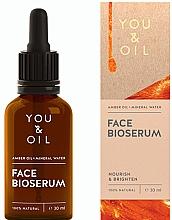 Parfumuri și produse cosmetice Ser hidratant pentru față - You & Oil Amber. Face Bioserum