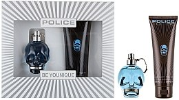 Parfumuri și produse cosmetice Police To Be Men - Set (edt/40ml + sh/gel/100ml)