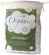 Parfumuri și produse cosmetice Bile din bumbac - Simply Gentle Organic Cotton Wool Balls