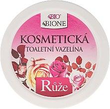 Vaselină cosmetică - Bione Cosmetics Cosmetic Vaseline With Rose Oil — Imagine N1